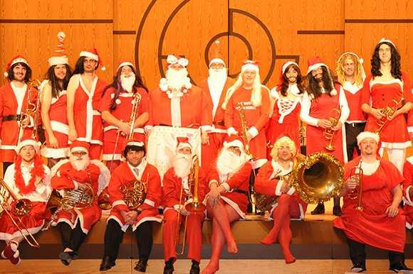 """Triffnix-Horns Weihnachtskonzert """"es wird scho glei pumpern…"""""""