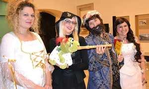 Grusel Gewusel Halloween mit Pauli Plappagei