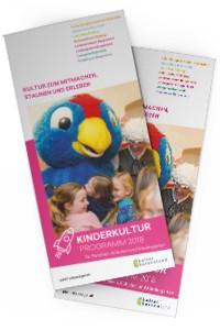 Foldercover Kinder-Kultur 2018